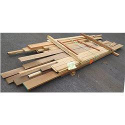 Walnut, Maple, Fir Bundle, 140 Total Board Ft, 7-12' Ave Per Piece