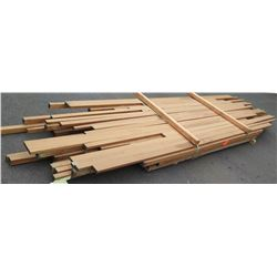 African Mahogany Bundle, 200 Total Board Ft, 6-15' Ave Per Piece