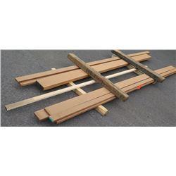"Sapele Bundle, 70 Total Board Ft, 1"" x 12' Ave Per Piece"