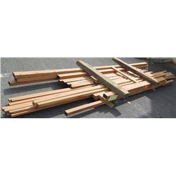 "Mahogany Bundle, Approx. 60 Board Ft, 2"" x  6-12' Ave Per Piece"