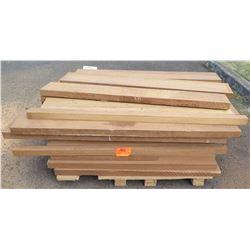 "Afroromosia Bundle, 275 Total Board Ft, 2"" x 4-5' Ave Per Piece"
