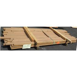 "Western Red Cedar Bundle, 200 Total Board Ft, 1-1/2"" x 8-9' Ave Per Piece"
