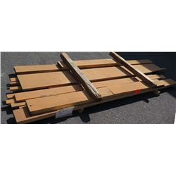 Red Oak Bundle, 100 Total Board Ft, 9' Ave Per Piece