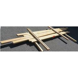 Qty 6 Pieces of Fir, 2x4, 2x3, 8-12' Ave Per Piece