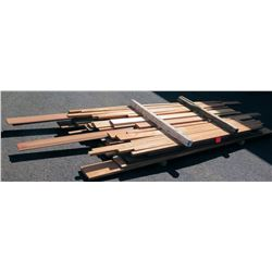 African Mahogany Lumber, Mouldings 8-14' Ave Per Piece