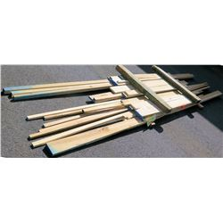 Poplar Bundle, 60 Total Board Ft, 8-16' Ave Per Piece