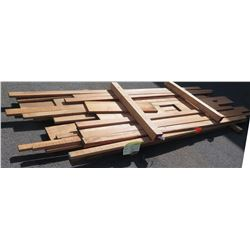 African Mahogany Bundle, 140 Total Board Ft, 4-12' Ave Per Piece