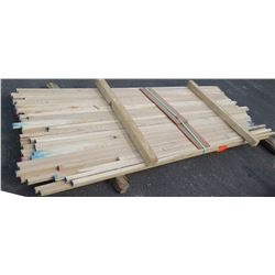 "White Oak Bundle, 50 Total Board Ft, 1"" x 8' Ave Per Piece"