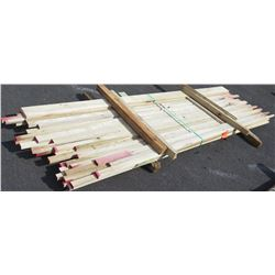 "Poplar Bundle, 60 Total Board Ft, 1"" x 10' Ave Per Piece"