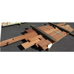 Sapele Bundle, 100 Board Ft, 9' Ave Per Piece