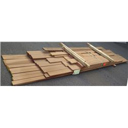 "Mahogany Bundle, Approx. 200 Board Ft, 1"" thick, 5'-14' Length"