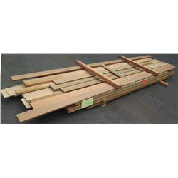 Mixed Species Bundle (Lumber, Profiles, Veneers), Approx. 250 Board Ft, 6'-10' Length