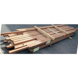 "Sapele Bundle, Approx. 360 Board Ft, 2"" thick, 8'-12' Length"