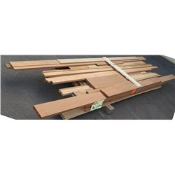Mixed Species Bundle (Lumber & Profiles), Approx. 190 Board Ft, 4'-8' Length