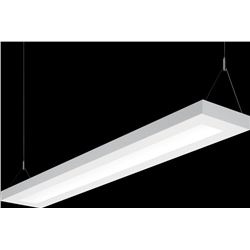 Qty 5 New Williams Suspended Direct/Indirect LED Light Fixture, 8' L