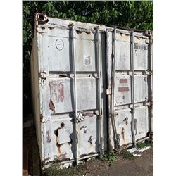 20' Shipping Container, Poor Condition (Please Inspect on Inspection Day)