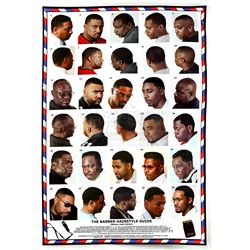 Lot # 471: Pop's Barber Shop Poster