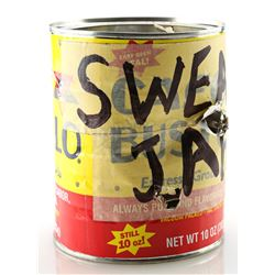 Lot # 482: Pop's Bullet-Punctured Swear Jar