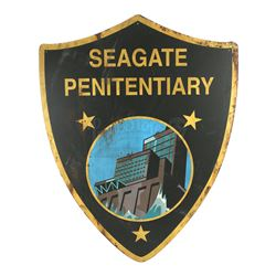 Lot # 493: Seagate Prison Yard Sign