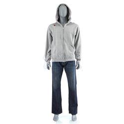 Lot # 538: Luke Cage's Zip-Up Hoodie Costume