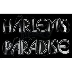 Lot # 554: Harlem's Paradise Neon Sign