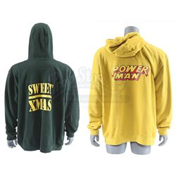 Lot # 588: D.W. Griffith's Power Man and Sweet X-Mas Novelty Hoodies