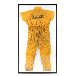 Lot # 609: Raymond 'Piranha' Jones' Fake Luke Cage Jumpsuit