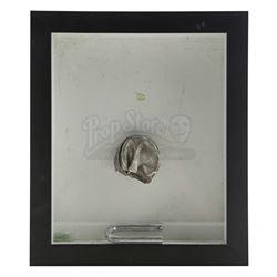 Lot # 610: Raymond 'Piranha' Jones' Framed Broken Lock