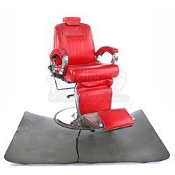 Lot # 631: Pop's Barber Shop Chair