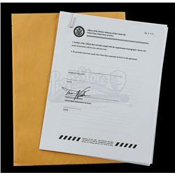 Lot # 635: Mariah Dillard's Unsigned Immunity Deal