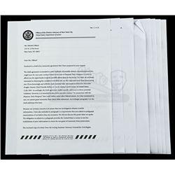 Lot # 642: Mariah Dillard's Signed Immunity Deal