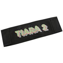 Lot # 647: Tilda Johnson's 'TJ' Initials Production Chairback