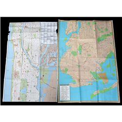 Lot # 653: Luke Cage's Drug Tracking Maps