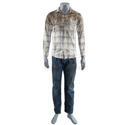 Lot # 663: Young Danny Rand's Plane Crash Costume