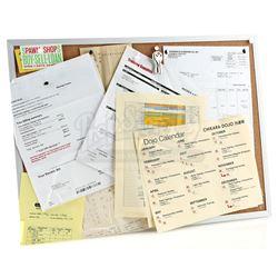 Lot # 673: Chikara Dojo Bulletin Board