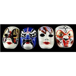 Lot # 674: Four Culture Celebration Masks