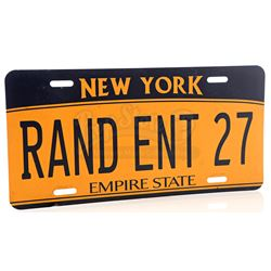 Lot # 690: RAND ENT 27 New York License Plate