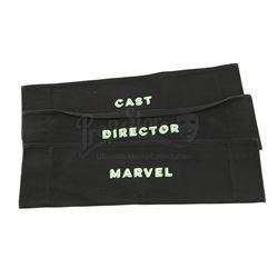 Lot # 741: Production Crew Chair Backs