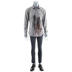 Lot # 748: Harold Meachum's Bloodied Death Costume