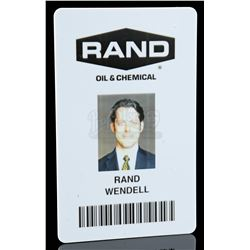 Lot # 779: Wendell Rand's Security Card