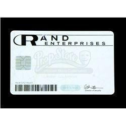 Lot # 791: Danny Rand's Rand Enterprises Badge