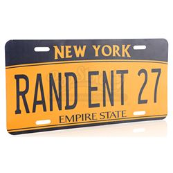 Lot # 792: RAND ENT 27 New York License Plate