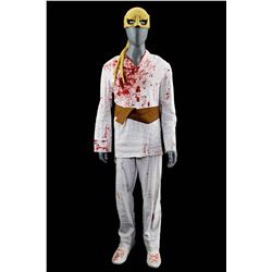 Lot # 803: Danny Rand's Bloodied Fight Costume