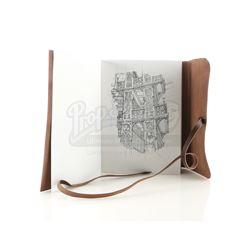 Lot # 821: Mary Walker's Sketchbook