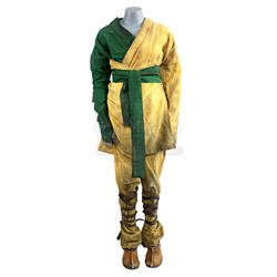 Lot # 854: Young Danny Rand's Monk Costume