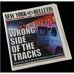 Lot # 867: New York Bulletin Newspaper