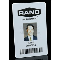 Lot # 868: Wendell Rand's Security Card