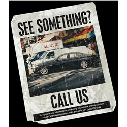 Lot # 880: See Something? Call Us' Flyer