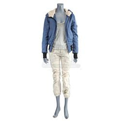 Lot # 890: Colleen Wing's Distressed Fight Costume
