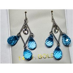 NECKLACE & EARRING LOT: